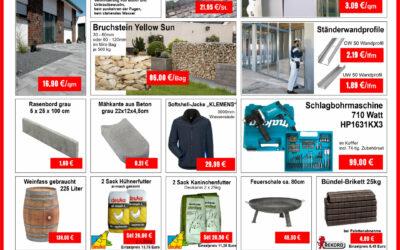 Aktions Angebote Baustoffzentrum-Finsterwalde